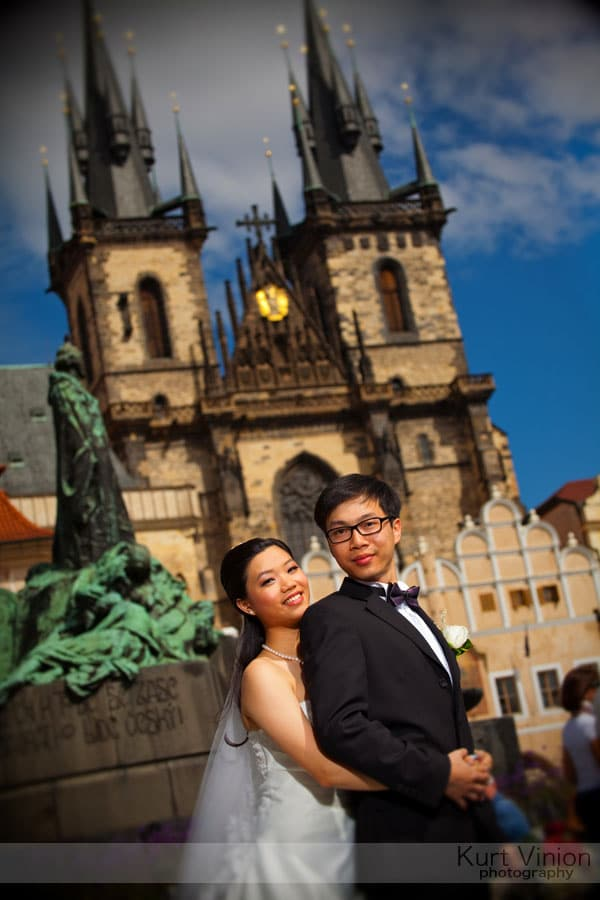 Prague pre wedding photographers / Winnie & Chiu portrait session
