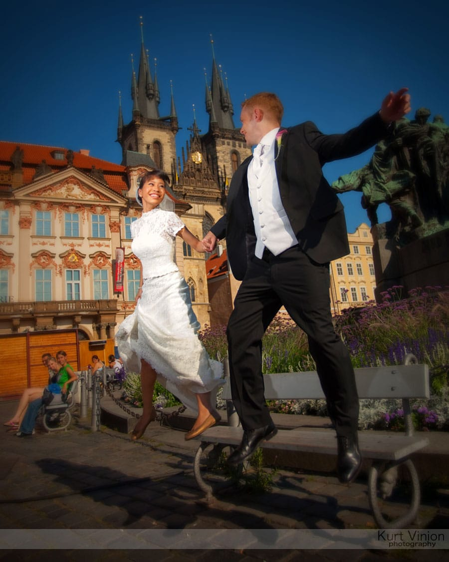 Vrtbovska Garden Wedding Prague / Roni & Tom (HK) wedding photography at Old Town Square