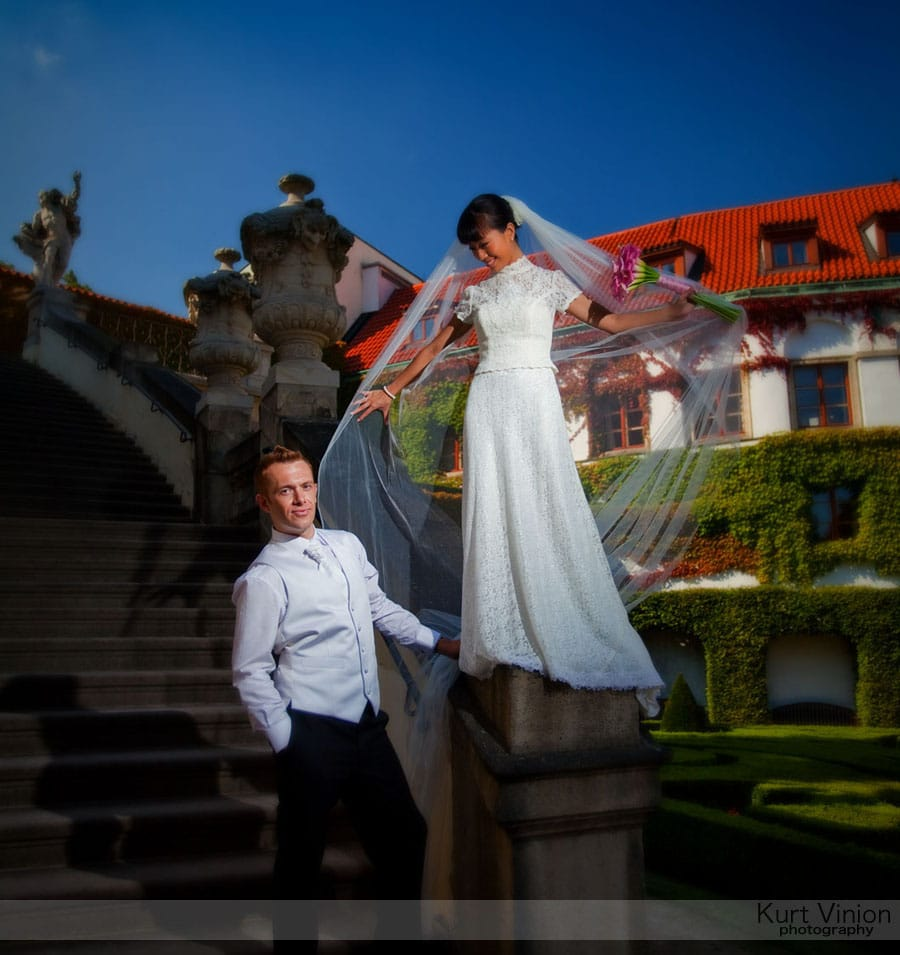 Vrtbovska Garden Wedding Prague / Roni & Tom (HK) wedding photography at Vrtba Garden