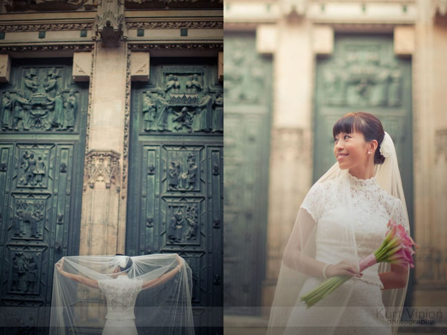 Vrtbovska Garden Wedding Prague / Roni & Tom (HK) wedding photography at Prague Castle