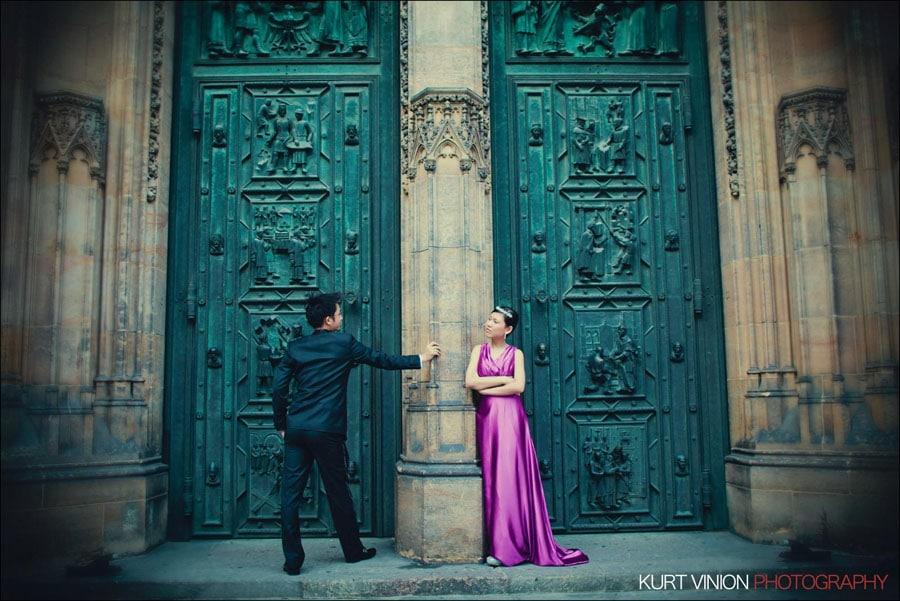 Prague pre wedding:  Janice & Joel portrait session
