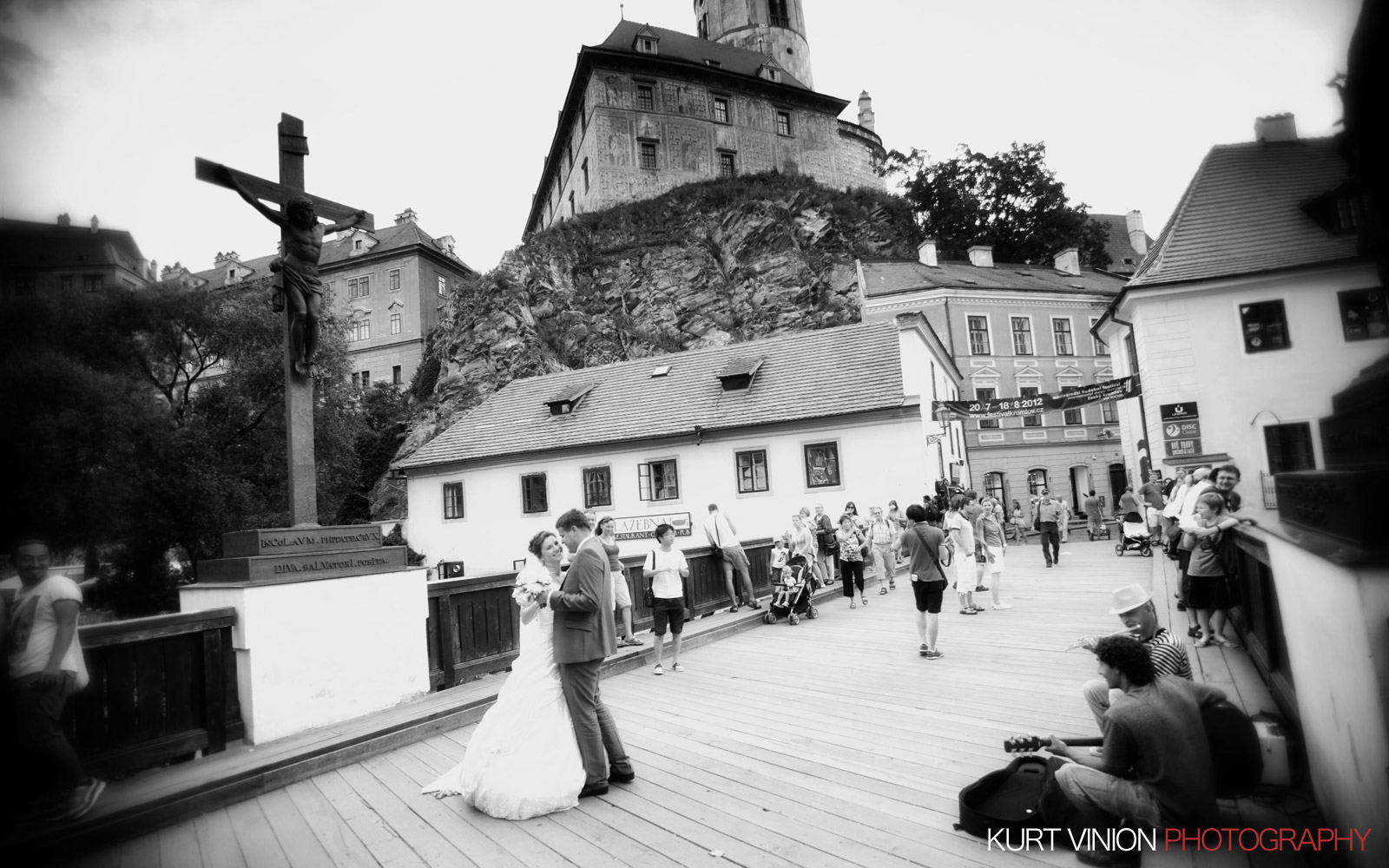 Hluboka nad Vltavou Castle wedding with Katya & Martina