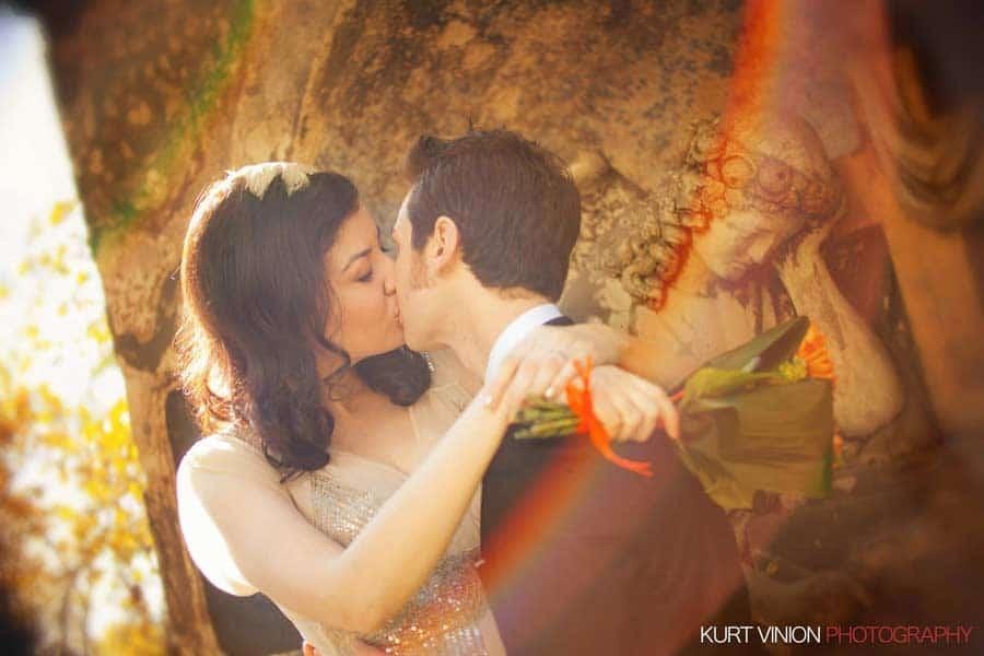 Prague wedding elopement / photography / Libby & Scott at St. Phillips and James church