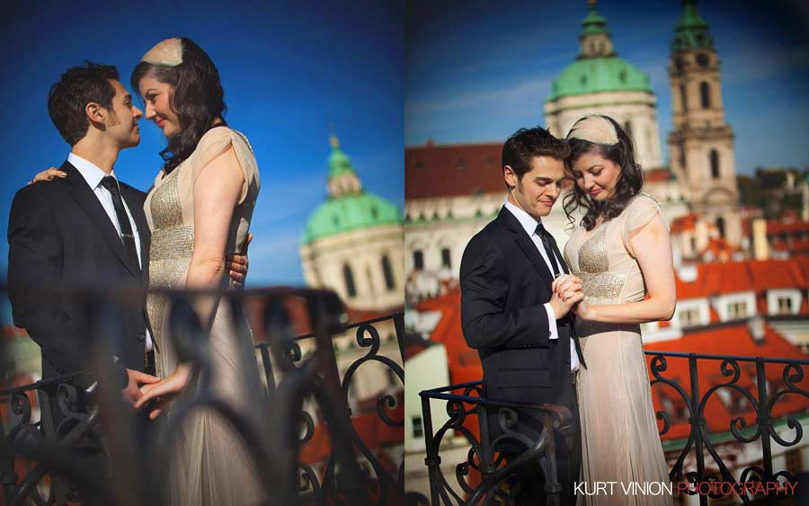 Libby & Scott's Elopement Wedding in Prague by The Leader in Wedding Photography Kurt Vinion (USA): Prague I Vienna I Venice I Rome I Paris I Santorini and also Hong Kong!