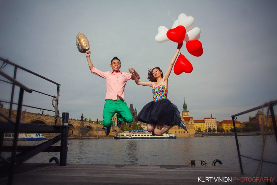 Prague pre wedding photos / Silver & Ken pre wedding photography