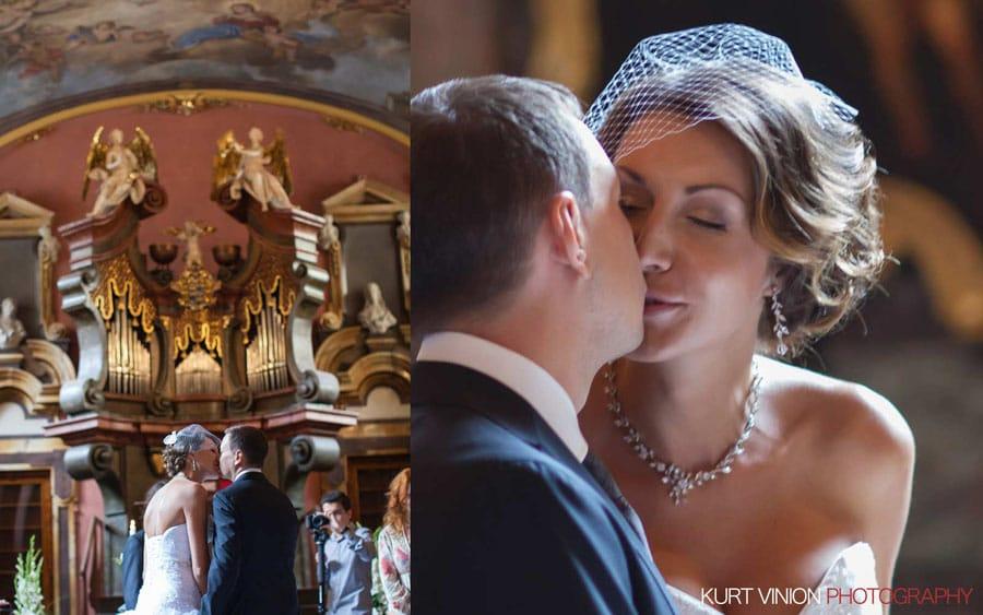 Prague Clementinum wedding / Luxury weddings Prague / Maria & Nikolai wedding