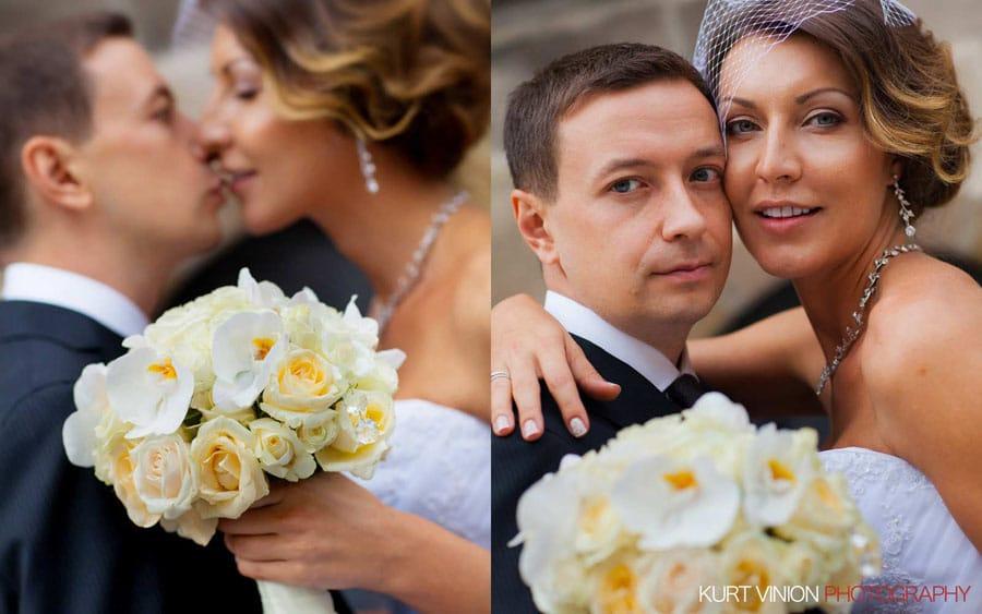 prague wedding photography / M & N luxury wedding / at the Astronomical Clock