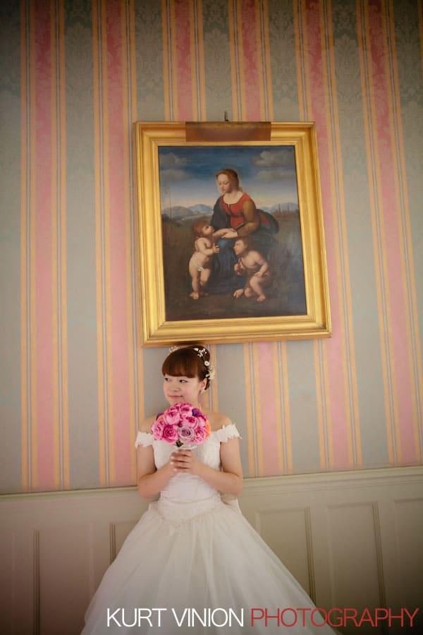 Château d'Esclimont portrait session / N & K / bridal portrait session