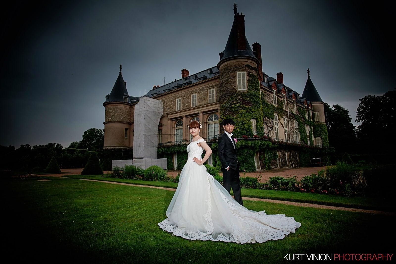 overseas photos / Château de Rambouillet / N & K / portrait session