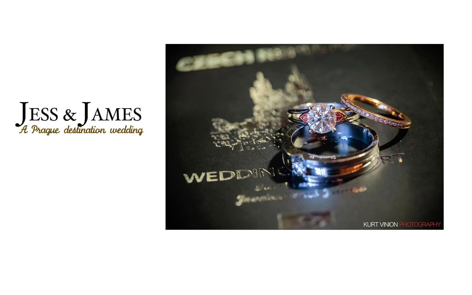 Prague Clementinum wedding / Jess + James - photography at the Alchymist