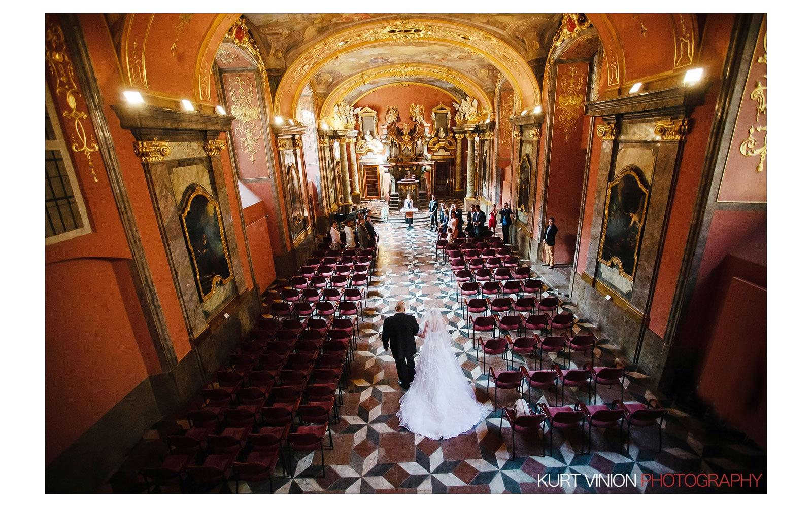 Prague Clementinum wedding / Jess + James - wedding photography