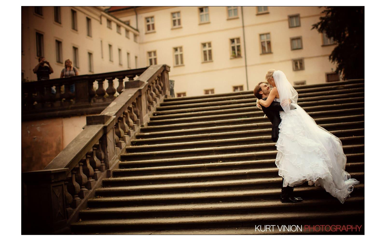 Prague Clementinum wedding / Jess + James - portraits in Prague