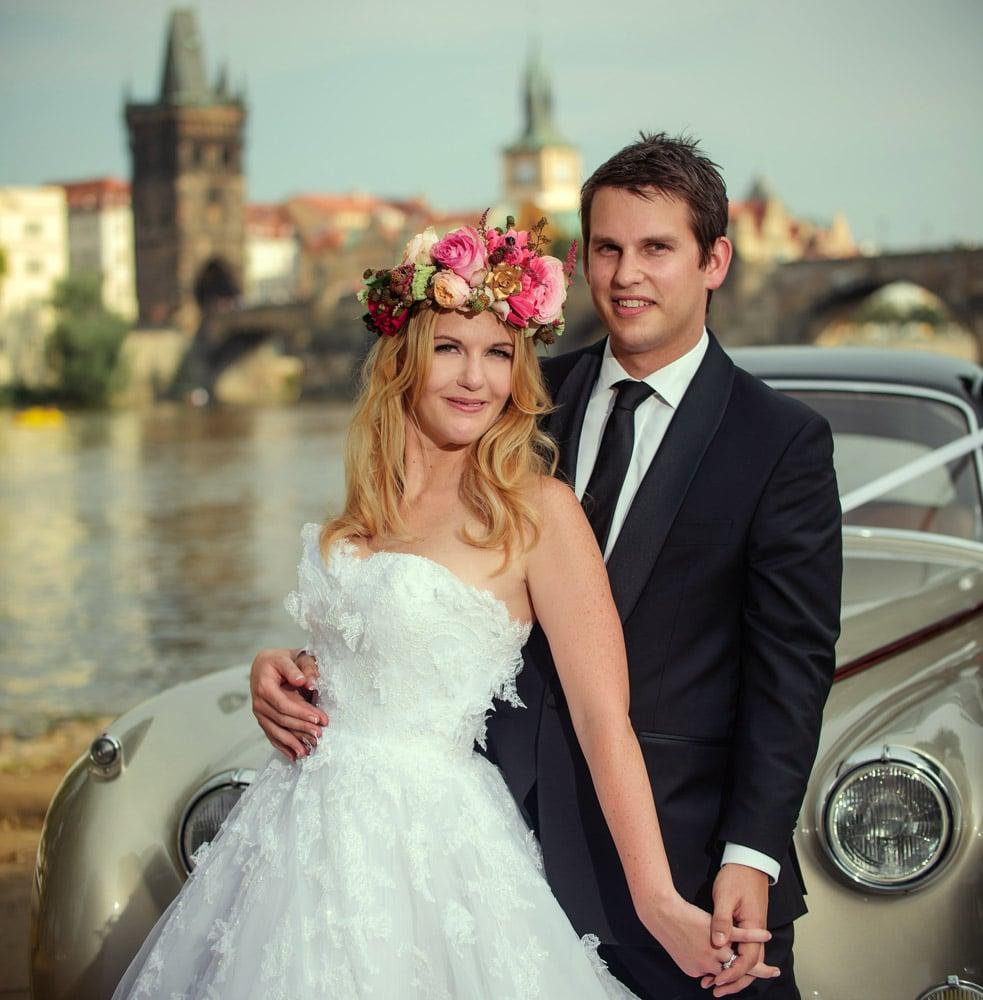 Prague Vrtbovska Garden wedding / Michelle & Dan / photography