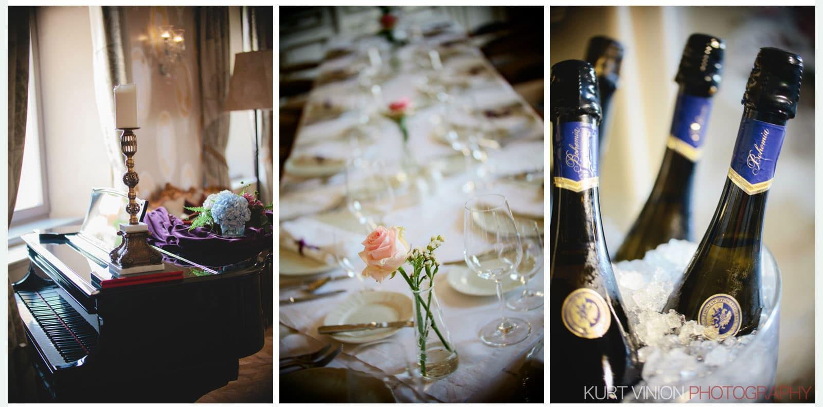 Chateau Mcely wedding / Ludmilla & Sergey wedding photos