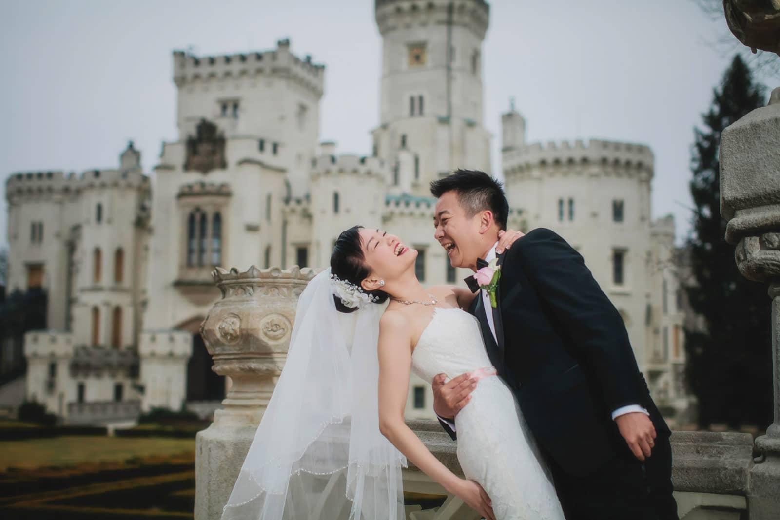 Castle Hluboka nad Vltavou wedding / Suki & Steven / photography