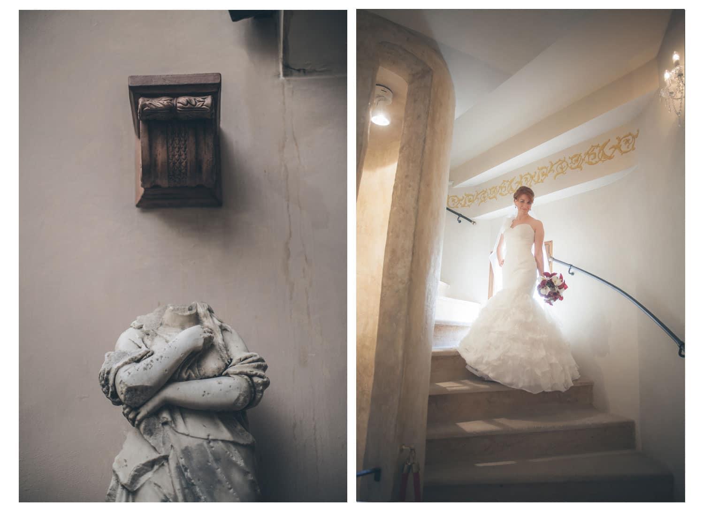 Charles Bridge Wedding / Kimberly & Jules / bridal portraits