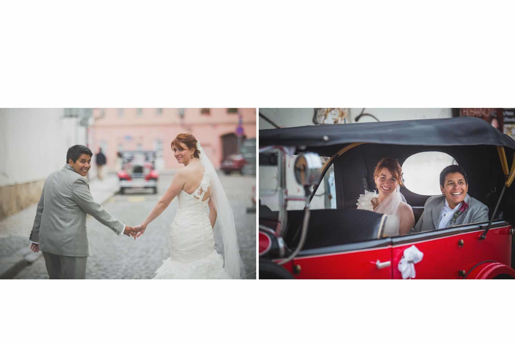 Charles Bridge Wedding / Kimberly & Jules / portraits in Prague