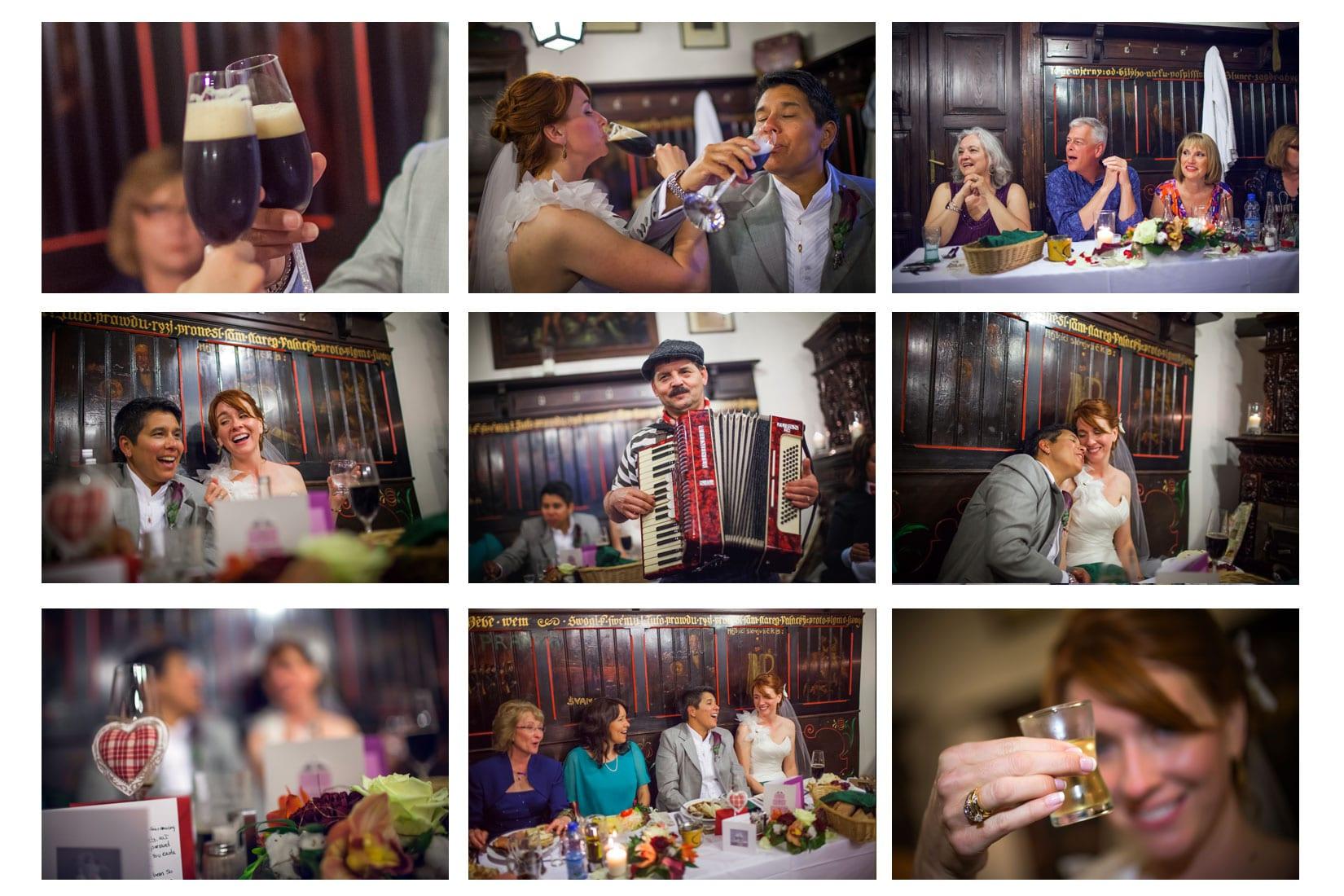 Charles Bridge Wedding / Kimberly & Jules / U Flecku wedding party