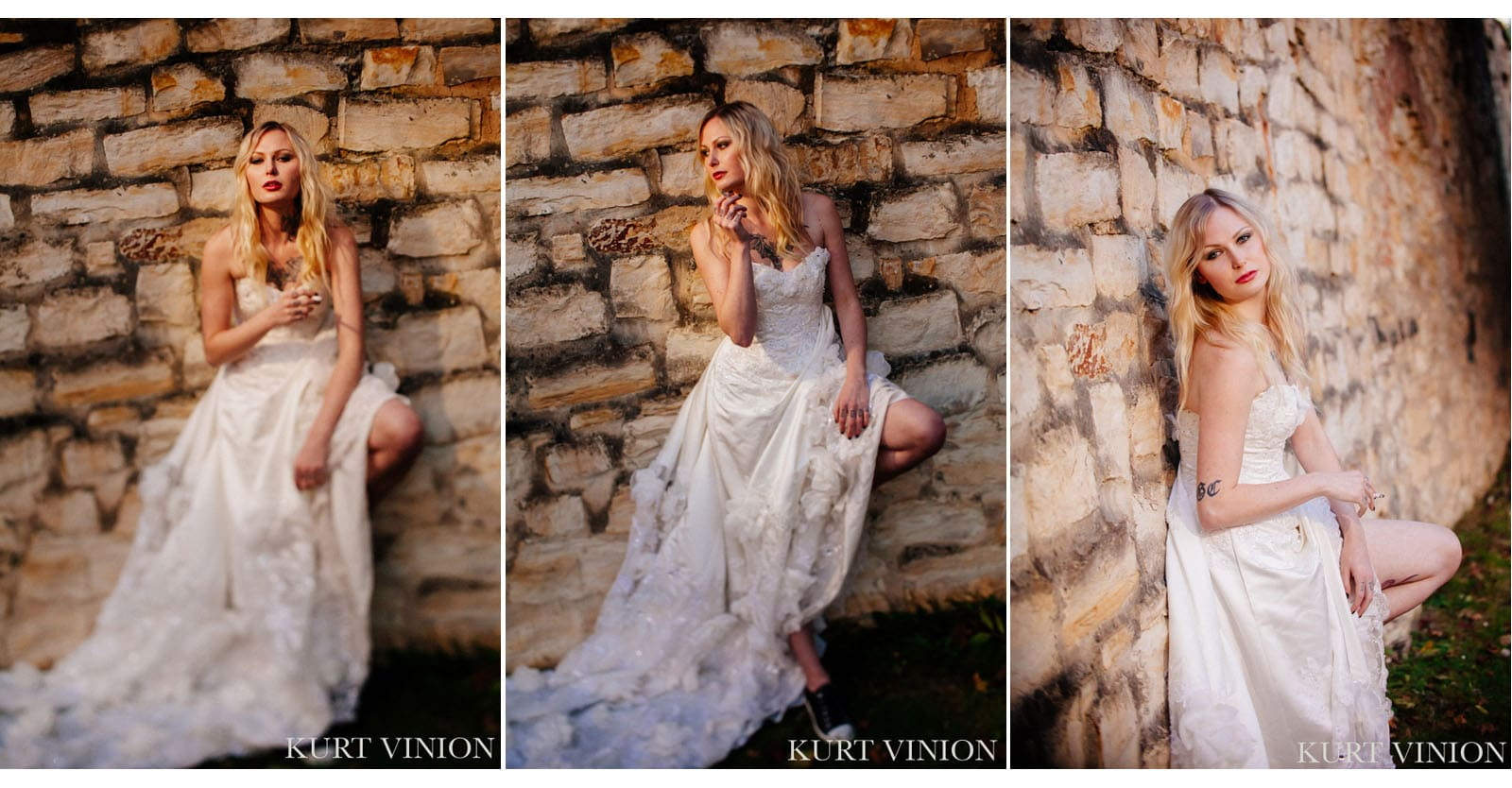 Martina\'s Rock n Roll bridal portrait session - Prague wedding ...