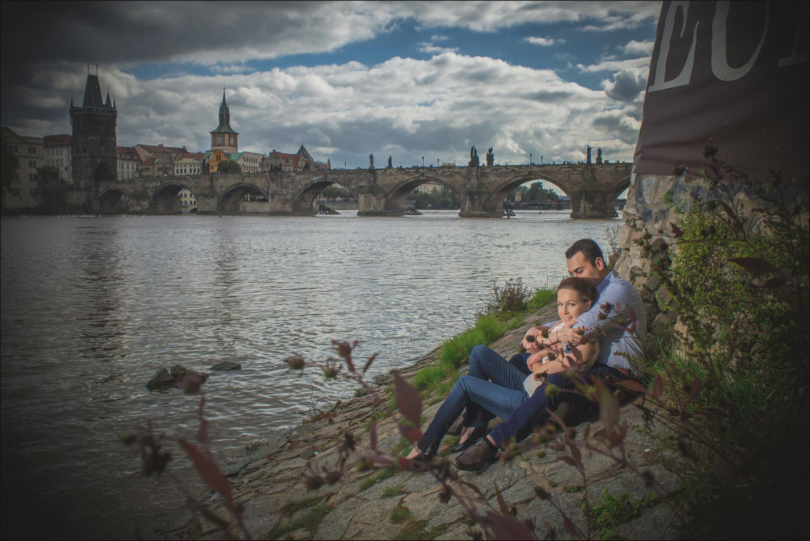 Lifestyle portraits Prague / T & M / portrait photography