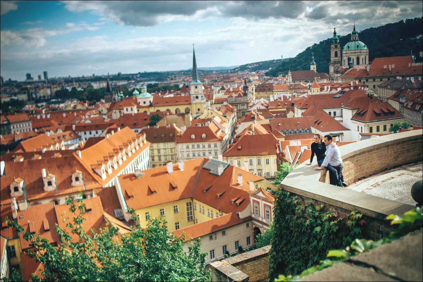 Lifestyle portraits Prague / T & M / portrait photography