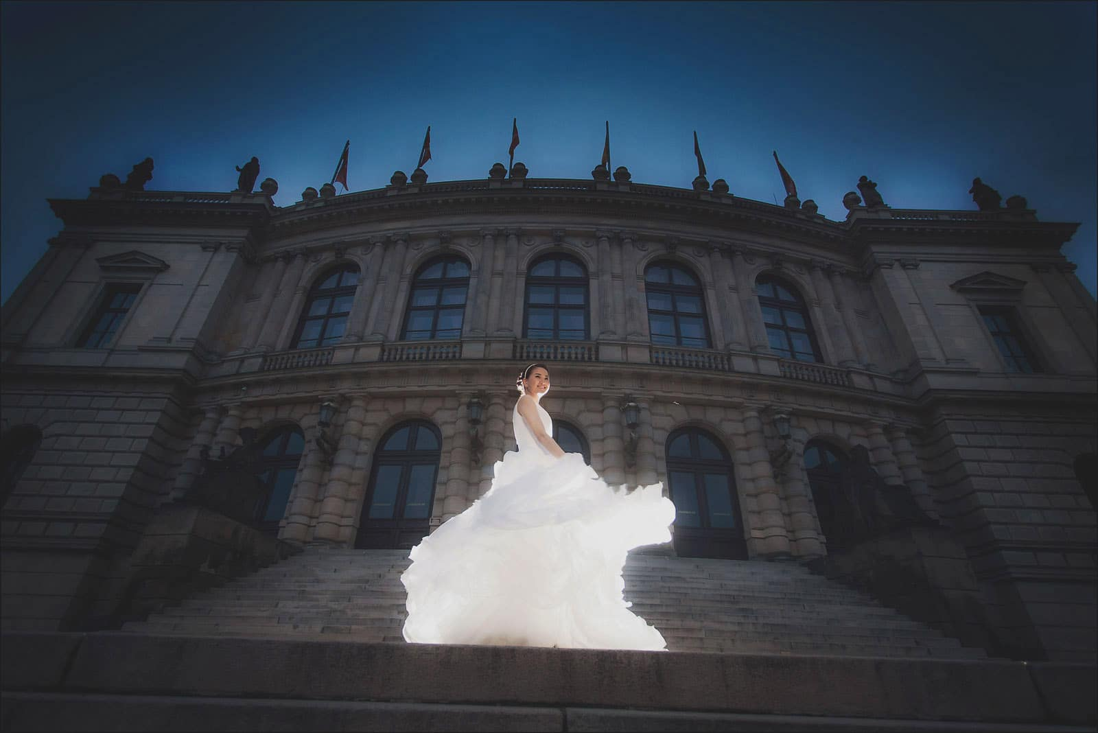 Prague pre wedding / Winona & Erik / portraits at the Rudolfinum