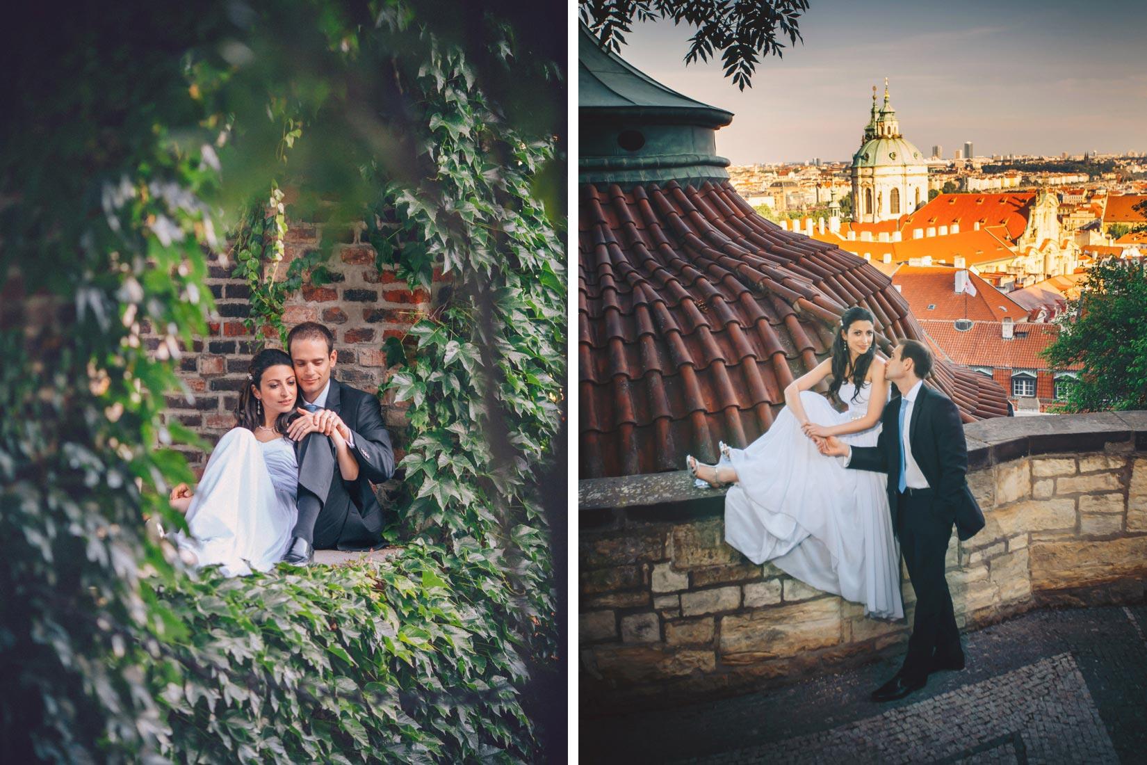 Prague photographers / Lana & Mike's Lifestyle Portrait session