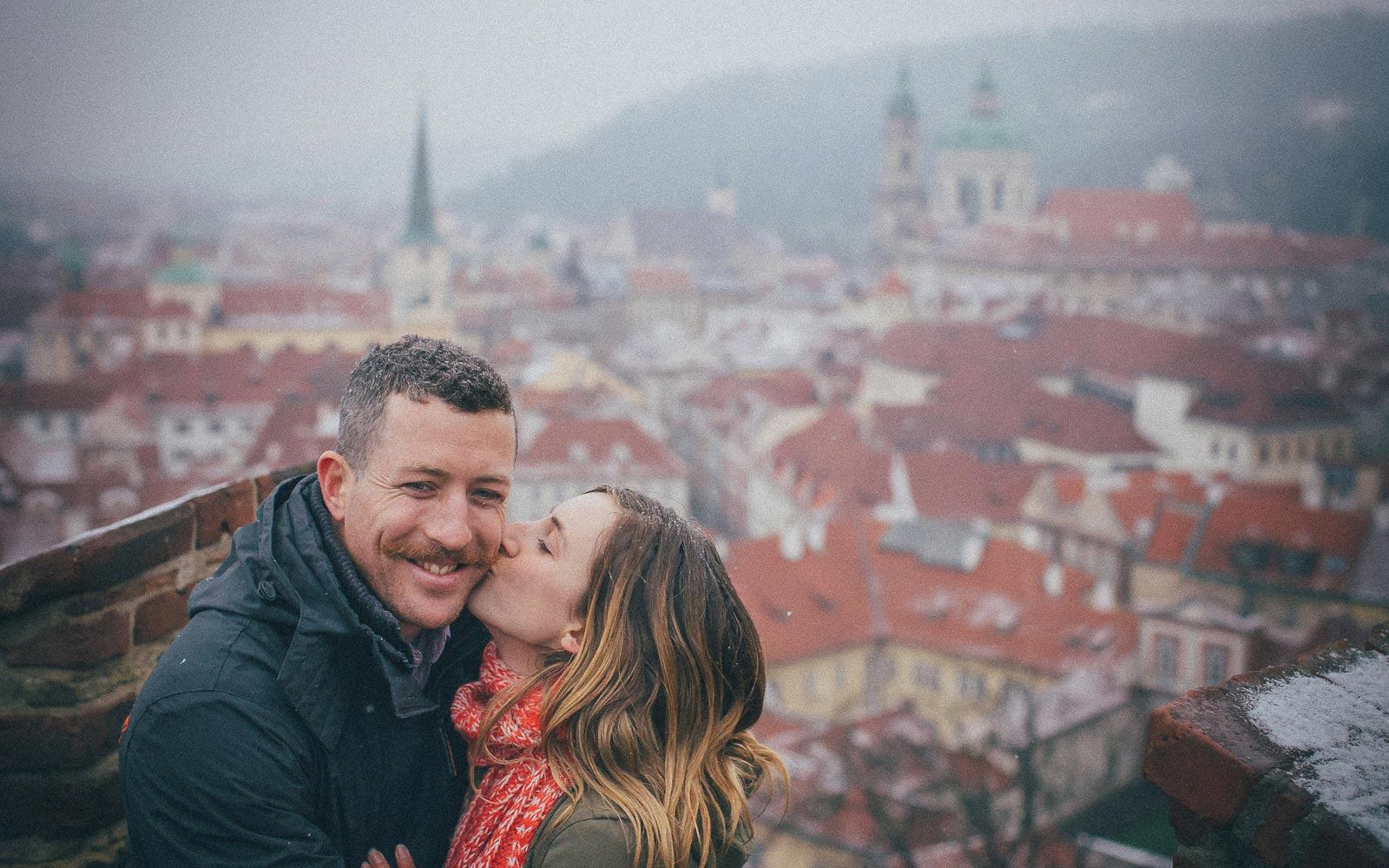 marriage proposal Prague: Natalie & John / photography session
