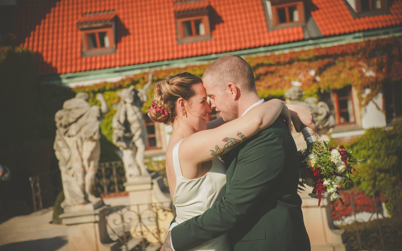 Vrtba Garden wedding Prague / R&J wedding photography