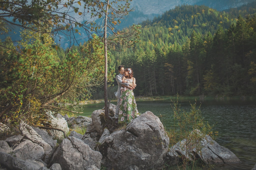 pre-wedding Germany / E+K portrait session in Bavaria