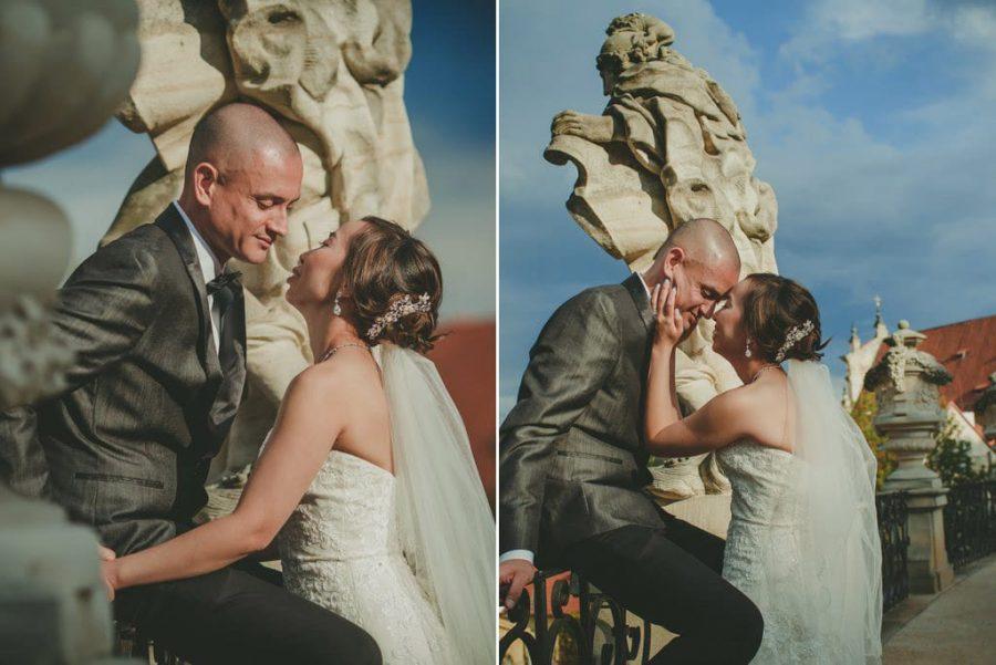 Prague wedding photographers / J&J wedding photos from Vrtba Garden / captured by American photographer Kurt Vinion