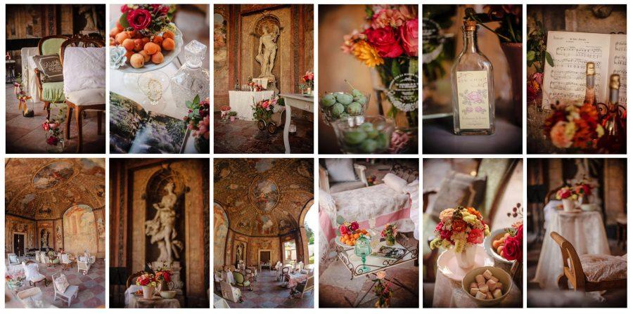 Wedding details from a Vrtba Garden wedding